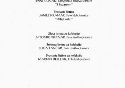 JSKD 2004 26. medobčinsko srečanje foto skupin in posameznikov Gorenjske katalog razstave 3b