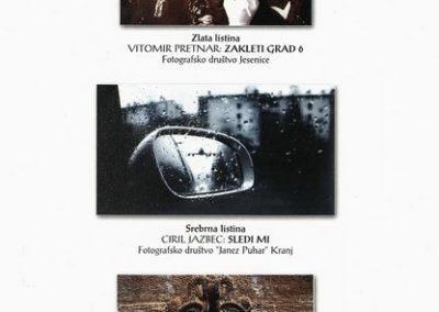 JSKD 2004 26. medobčinsko srečanje foto skupin in posameznikov Gorenjske katalog razstave 3d