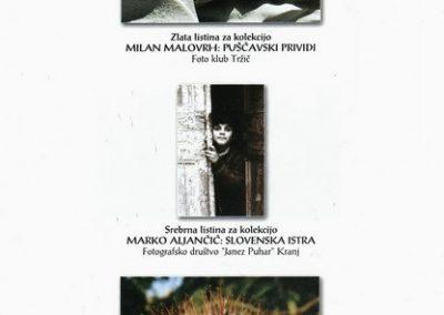JSKD 2004 26. medobčinsko srečanje foto skupin in posameznikov Gorenjske katalog razstave 3e