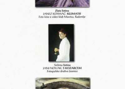 JSKD 2004 26. medobčinsko srečanje foto skupin in posameznikov Gorenjske katalog razstave 3f
