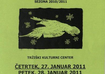JSKD 2011 Območni pregled otroške gledališke ustvarjalnosti sezona 2010 2011 vabilo 3a