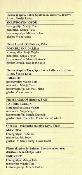 JSKD 2013 Območna revija plesnih skupin Škofja Loka in Tržič vabilo 3b
