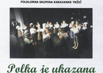JSKD 2014 Polka je ukazana Srečanje otroških folklornih skupin območnih izpostav Jesenice in Tržič vabilo 3a