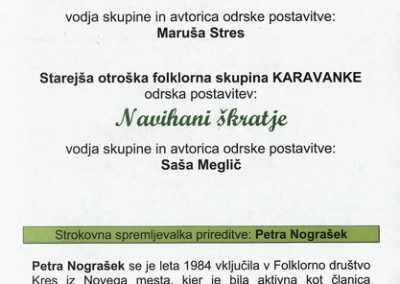 JSKD 2014 Polka je ukazana Srečanje otroških folklornih skupin območnih izpostav Jesenice in Tržič vabilo 3c