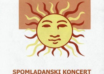 JSKD 2014 Spomladanski koncert Območno srečanje otroških in mladinskih pevskih zborov vabilo 3a