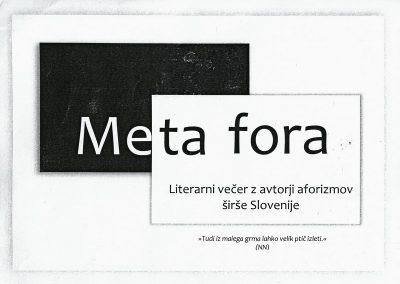 JSKD 2016 Meta fora Literarni večer z avtorji aforizmov širše Slovenije vabilo 3a