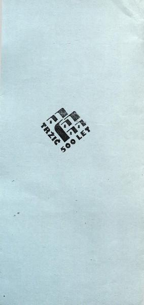 Zveza kulturnih organizacij Tržič 1992 XI. revija tržiških pevskih zborov TRŽIČ POJE 92 vabilo 3c